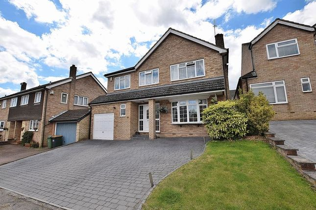 Thumbnail Detached house for sale in Brierley Close, Dunstable