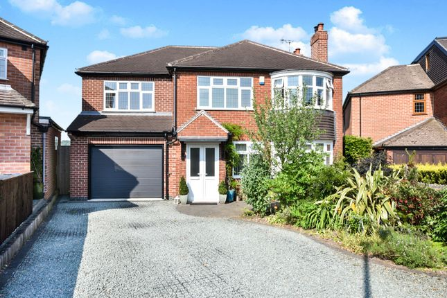 Thumbnail Detached house for sale in Eaton Avenue, Allestree, Derby