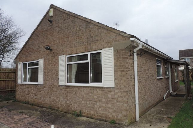 Thumbnail Detached bungalow to rent in Pine Close, Stamford, Lincolnshire
