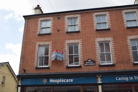 Thumbnail Flat to rent in Gold Street, Tiverton