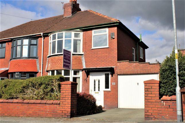 Thumbnail Semi-detached house for sale in Birch Avenue, Chadderton, Oldham