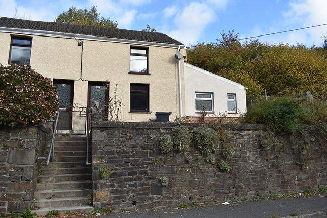 Thumbnail Semi-detached house for sale in Heol Gleien, Upper Cwmtwrch, Swansea