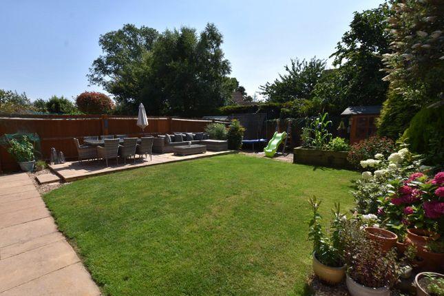 Rear Garden of Berrybrook Meadow, Exminster, Exeter EX6