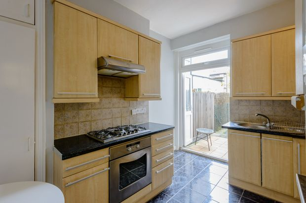 Thumbnail 1 bed flat for sale in Carlingford Road, London