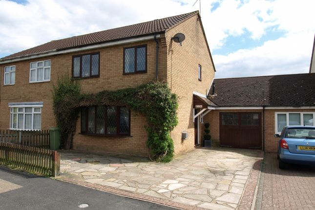 Thumbnail Semi-detached house for sale in Wordsworth Avenue, Newport Pagnell, Buckinghamshire