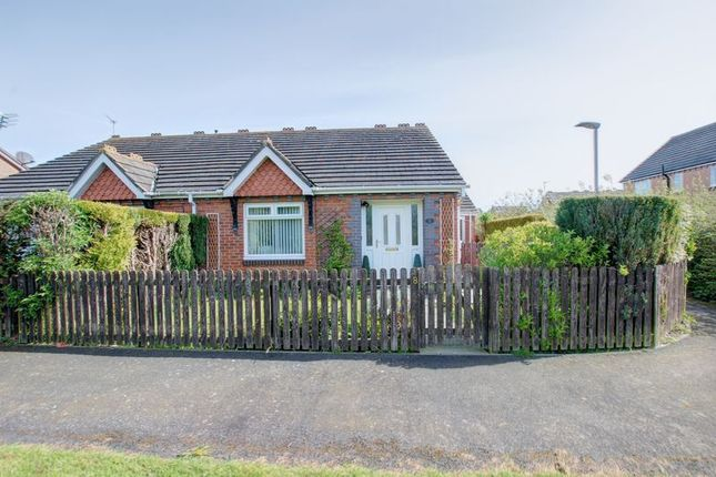 Thumbnail Semi-detached bungalow to rent in Gosport Way, Blyth