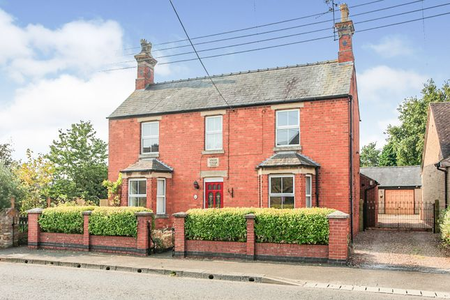 Thumbnail Detached house for sale in Uppingham Road, Caldecott, Market Harborough