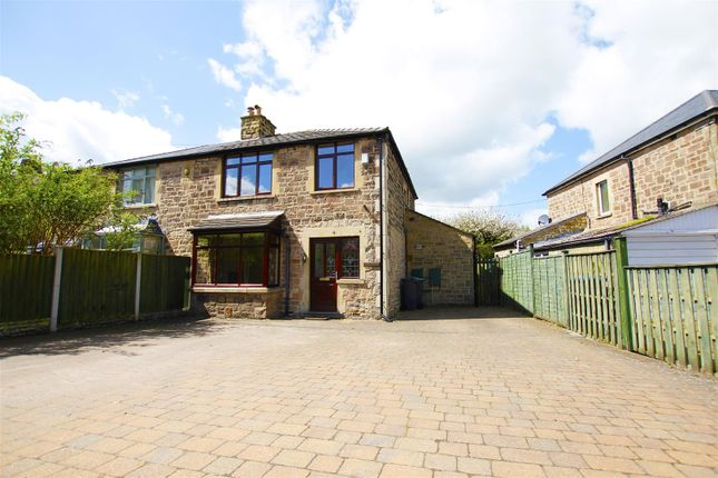 Thumbnail Semi-detached house for sale in Calver Road, Baslow, Derbyshire