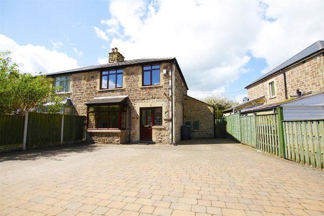 Thumbnail Semi-detached house for sale in Calver Road, Baslow, Derbyshire