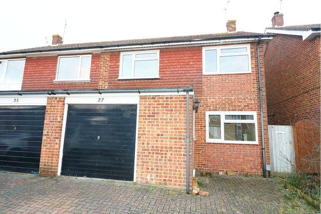 Thumbnail Terraced house to rent in Collard Road, Willesborough, Ashford
