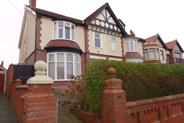 Thumbnail Semi-detached house for sale in Sandhurst Avenue, Blackpool