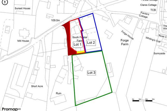 Lotting Plan of Throwley Forstal, Faversham, Kent ME13