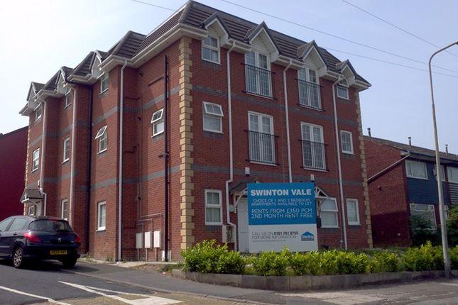 Thumbnail Flat to rent in Rake Lane, Swinton Vale, Swinton