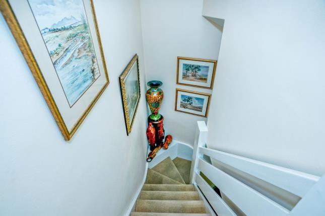 Stairwell of North Walls, Chichester, West Sussex, . PO19
