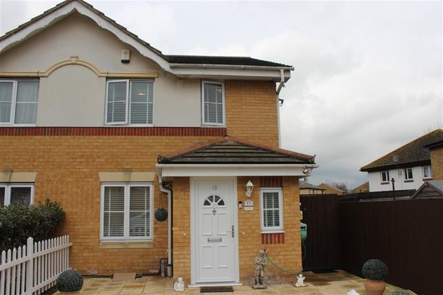 Thumbnail Semi-detached house for sale in Livesey Close, Thamesmead, London