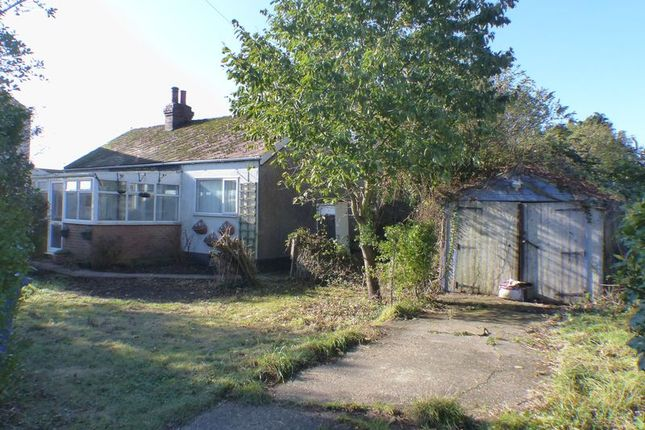 Thumbnail Detached bungalow for sale in Brookwood, Ferry Road, Southrey, Lincoln