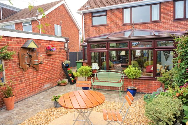 Rear Garden of Olympic Close, Glenfield LE3