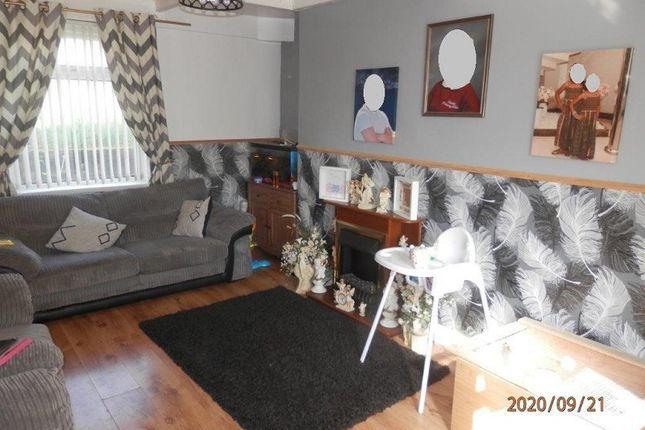 Lounge of Heol Pymmer, Tonyrefail, Rhondda Cynon Taff. CF39