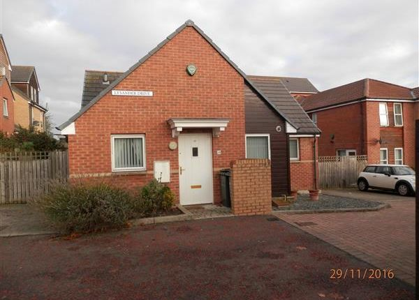 Thumbnail Link-detached house for sale in Lysander Drive, Walker, Newcastle Upon Tyne