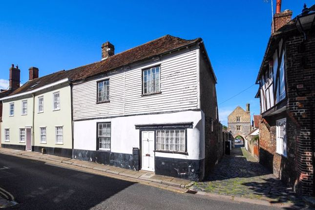 Thumbnail Terraced house for sale in Upper Strand Street, Sandwich