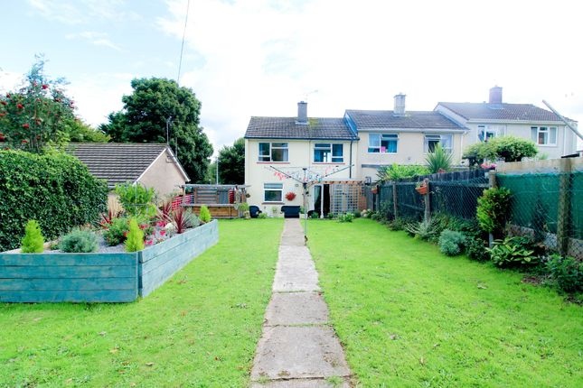 Thumbnail End terrace house for sale in Greenwood Avenue, Pontnewydd, Cwmbran