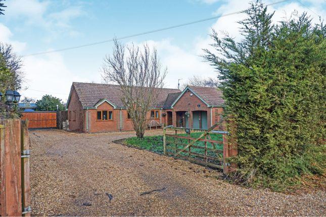 Thumbnail Detached bungalow for sale in Langwood Fen Drove, Chatteris