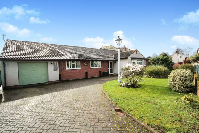Thumbnail Detached bungalow for sale in Church Road, Caldicot