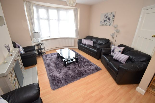 Thumbnail Semi-detached house for sale in Midway Road, Evington, Leicester