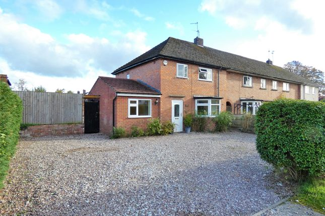 Thumbnail End terrace house for sale in Woodfields, Christleton, Chester