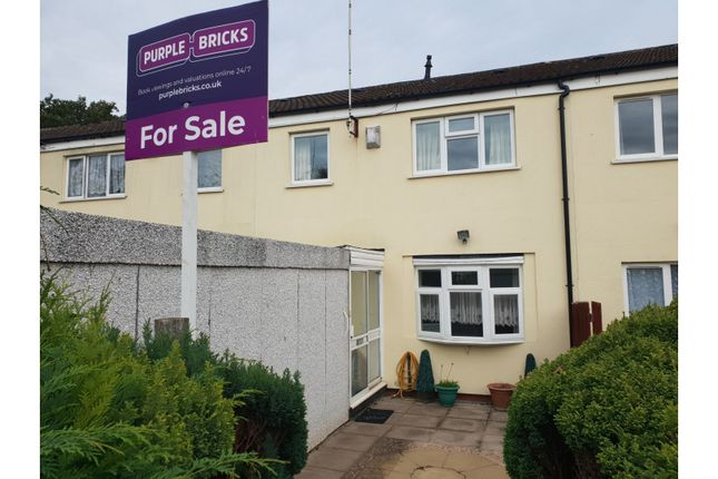 Thumbnail Terraced house for sale in Lingen Close, Redditch