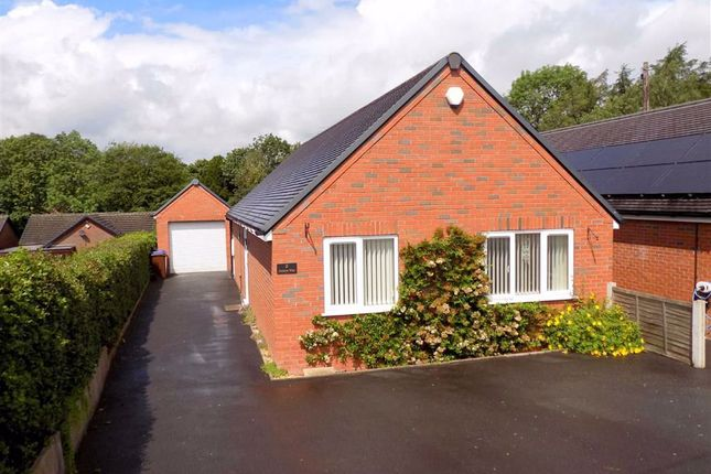 Thumbnail Detached bungalow for sale in Beech Avenue, Cheddleton, Staffordshire