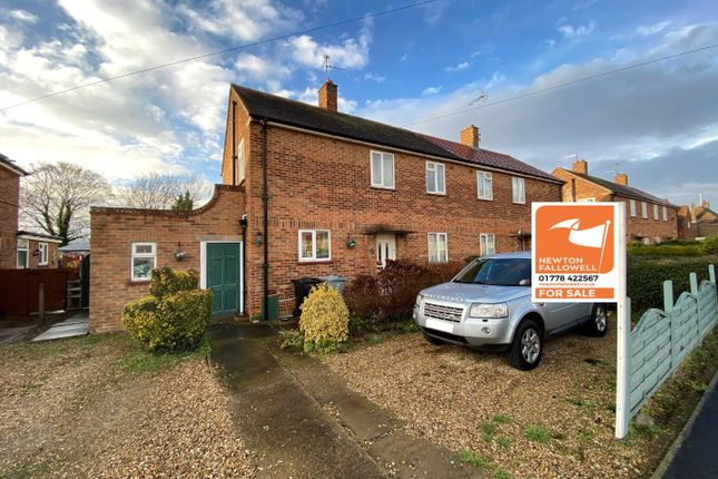 3 bed semi-detached house for sale in Ancaster Road, Bourne PE10