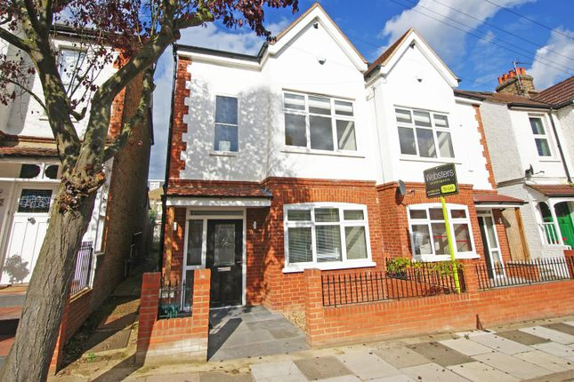 Thumbnail Semi-detached house to rent in Riverview Gardens, Twickenham