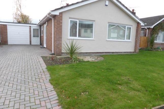 Thumbnail Detached bungalow to rent in Woodridge Avenue, Marford, Wrexham