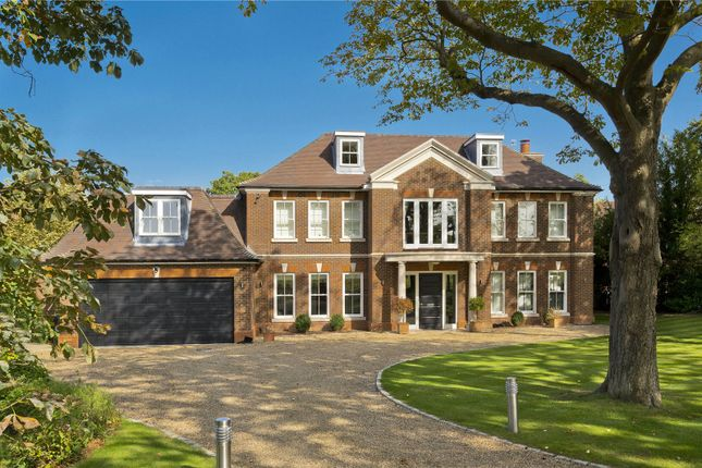 Thumbnail Detached house for sale in Old Chestnut Avenue, Claremont Park, Esher, Surrey