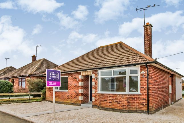 Thumbnail Detached bungalow for sale in Ireton Road, Market Harborough