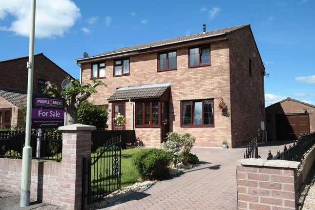 Thumbnail Semi-detached house for sale in Blaen Wern, Aberdare
