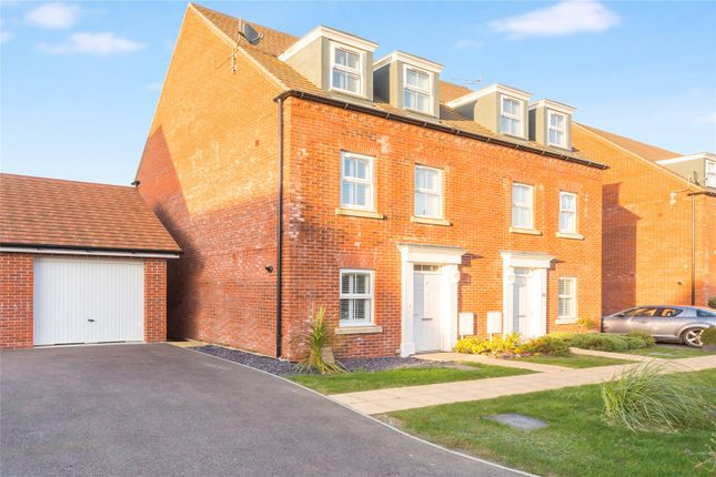 Thumbnail Semi-detached house for sale in Mildred Durrant Way, Hurstpierpoint, West Sussex