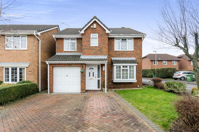 Thumbnail Detached house for sale in Walker Gardens, Hedge End, Southampton