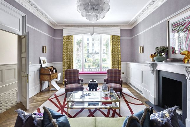 Thumbnail Maisonette for sale in Leinster Square, London