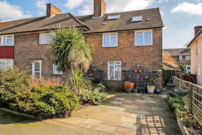 Thumbnail End terrace house for sale in Downham Way, Bromley, Kent