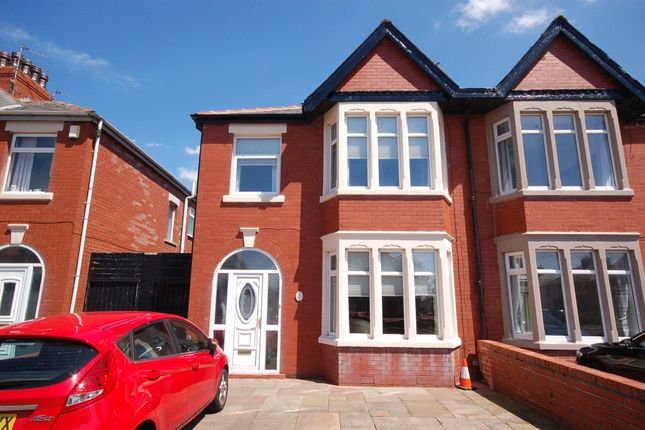 Thumbnail Semi-detached house for sale in Harrington Avenue, Blackpool