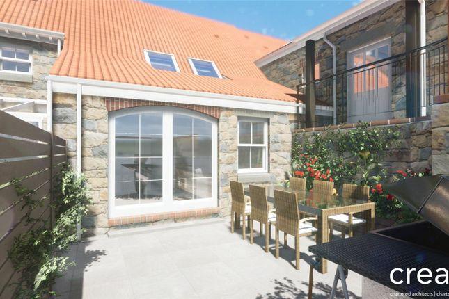 Thumbnail Terraced house for sale in 6 Merriman Court, Le Foulon, St Peter Port