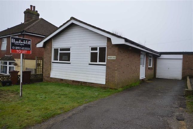 Thumbnail Detached bungalow to rent in Figg Lane, Crowborough