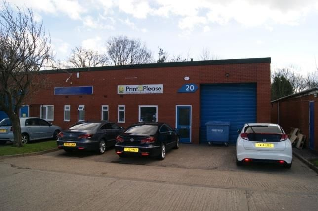 Thumbnail Light industrial to let in Unit 20, Central City Industrial Estate, Red Lane, Coventry