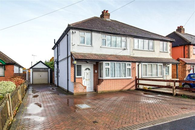 Thumbnail Semi-detached house for sale in Town Lane, Stanwell, Staines-Upon-Thames, Surrey