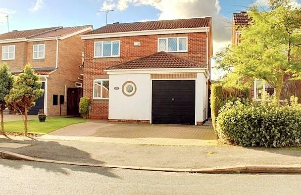 Thumbnail Detached house to rent in Newton Drive, Beverley