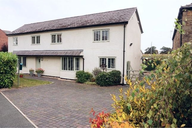 Thumbnail Detached house for sale in Chapel Fields, Gresford