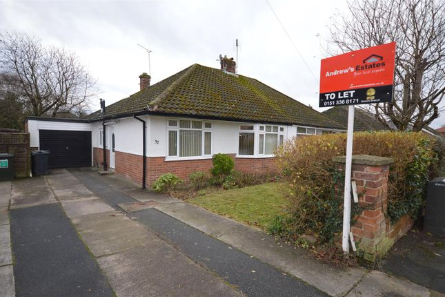 3 bed semi-detached bungalow to rent in Wallcroft, Willaston, Neston