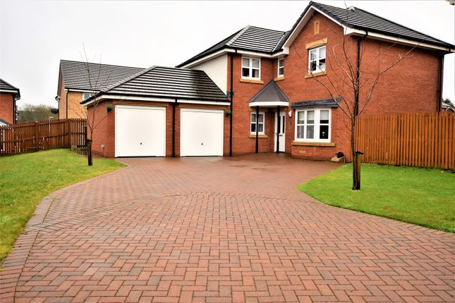 Thumbnail Detached house for sale in Creston Wynd, Motherwell